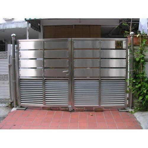 Modern Stainless Steel Gate At Rs 380 Kilogram Ss Gate Stainless