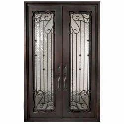 Shiv Handicraft Rectangle Iron Designer Door