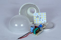 9 Watt Ph-2 Driver Based SKD Housing, Diffuser, Tikki, Driver, MCPCB