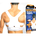 Power Magnetic Posture Support Corrector Back Brace Belt 400-L