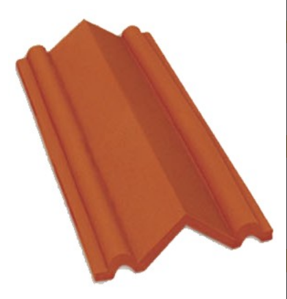 46145a89ca83 Brown 450 Gms. White House Roofing Tile, Size: 8