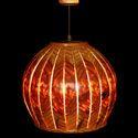 Spherical Slitz Hanging Lamp