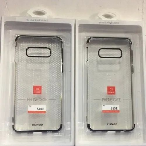 Samsung Rubber Transparent Mobile Cover