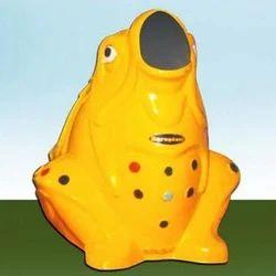 FRP Frog Garbage Bin