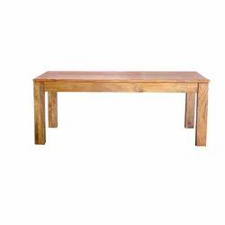 Wooden Rectangular Table