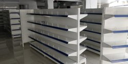 Powder Coated Supermarket Display Rack