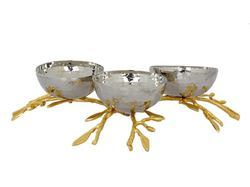 Brass & Steel Center Table Decorative Items
