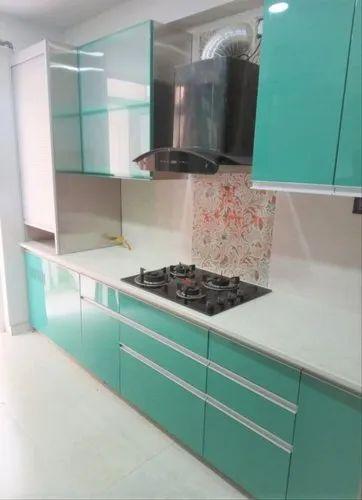 Stainless Steel Modular Kitchen - L Shape & Straight Line, Warranty: 10-15 Years