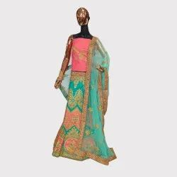 Green Ceremonial Lehenga