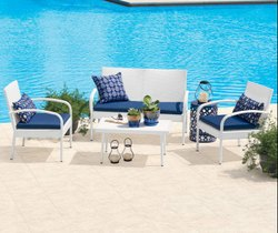 All Weather Wicker Seating Set