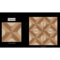 Olive Wood Ceramic Tiles