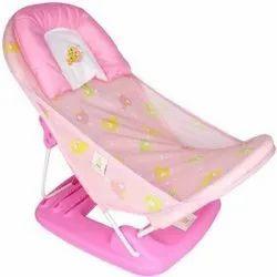 Pink Plastic Baby Bather Tube