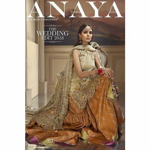7d8fa0a7c6 Wedding Wear Chiffon Anaya Designer Suit, Rs 2300 /piece, Saba ...