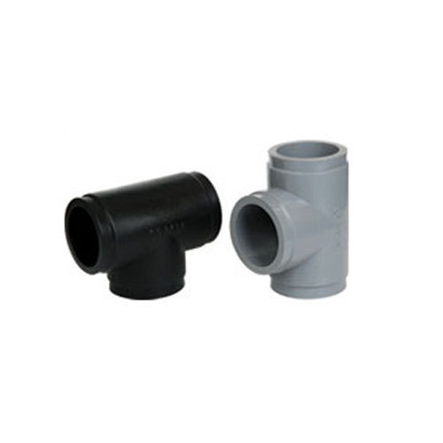 HDPE Moulded Tee for Structure Pipe, Size: 3-10 inch