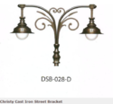 DGB-028-D Christy Cast Iron Street Bracket
