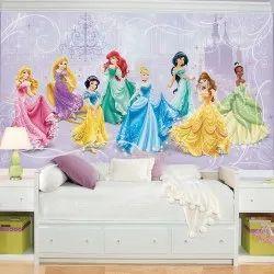 Customized Barbie Cartoon Wallpaper At Rs 45 Square Feet कस टम इज ड व लप पर Shakti Lifestyle Products Delhi Id 21345473791