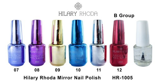 0ee497a0d38 Hilary Rhoda 24 Colors Mirror Nail Polish