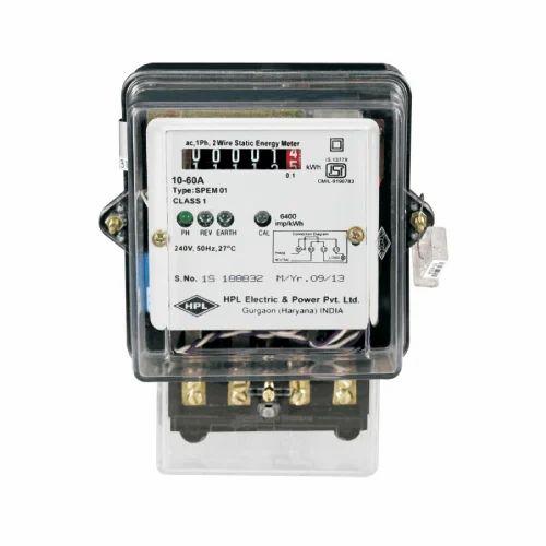 Single Phase Electrical Meter, Electrical Meter - Metro Instruments ...