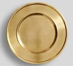 Brass Antique Charger Plate