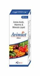 Amino Acid -multi Vitamin And Multi Mineral Syrup 200 Ml