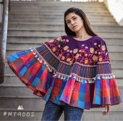a12e584eaeee16 Grey Poncho Top at Rs 895  piece