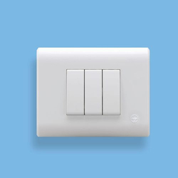 White Electrical Switch