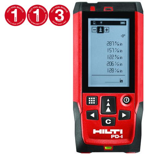 Laser Range Meter Pd I 100m Range 1 Year Free Repair Hilti