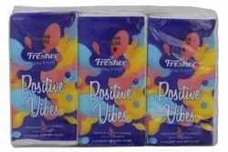 Freshee 3 Ply 6 In 1 Skin Friendly Pocket Tissue for Household, Packaging Type: Packet