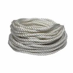 White Twist Rope Nylon Rope, Length: 50-100 m/reel, Diameter: 1-20 mm