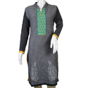 Ladies Full Sleeve Woolen Kurti
