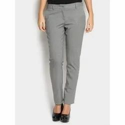 f90cebacb6f1 Formal Wear Plain Ladies Formal Trouser, Waist Size: 26