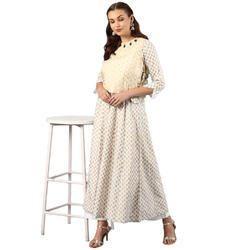 Ladies Anarkali Cotton Kurti