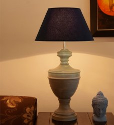 Mangowood Table Lamps wooden lamp, for Decoration