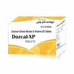 Biodef Calcium Citrate Malate Vitamin D3 Tab, 10 X 10 Tablets