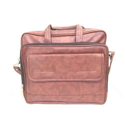 Leather Brown Laptop Office Bag