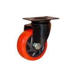 Single Roller SS Wheel Zinc Frame