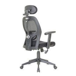 Black Mesh Featherlite High Back Revolving Office Chair