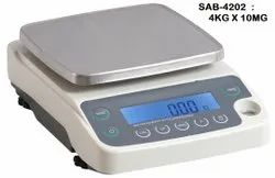 SUNRISE External 4kg x 10mg Weighing Scale, For Laboratory, Model Name/Number: SUN-4202