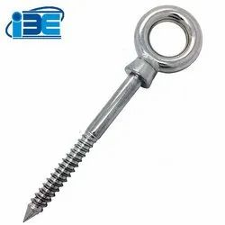 Screw thread eye bolt
