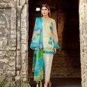 Ladies Printed Pakistani Lawn Suit