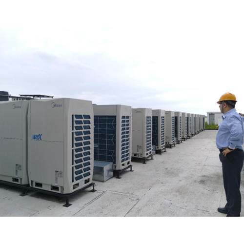 Midea Commercial Rooftop Air Conditioner Rs 40000 Ton
