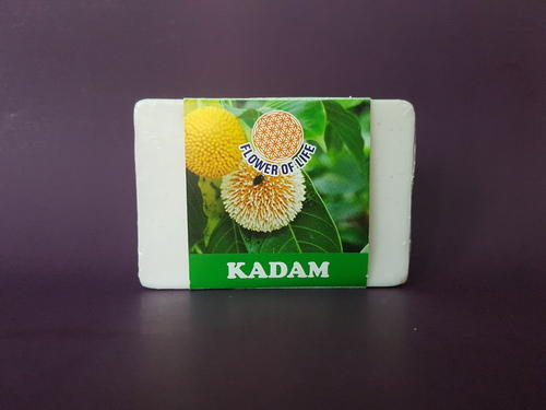 Flower of life Kadam Glycerin Soap, Pack Size (gram): 75 gm and