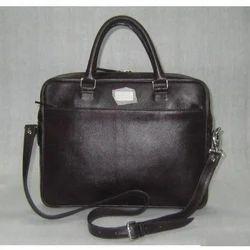 c28b7453e5 Dark Maroon Palin Leather Laptop Multi Utility Bag