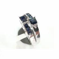 Blue Sapphire Finger Ring