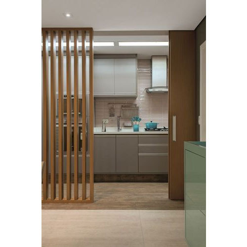 Brown Kitchen Wooden Partition, Rs 400 /square Feet, The