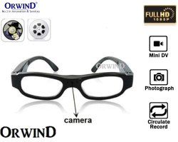 Spy Hidden Camera with Mini Digital Eyewear Specticles DVR DV Video Recorder