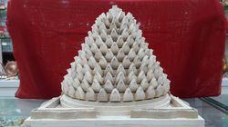 Maha Rudra Yantra Made From Shreeparni Wood