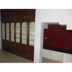 Brown Book Cabinet For Library