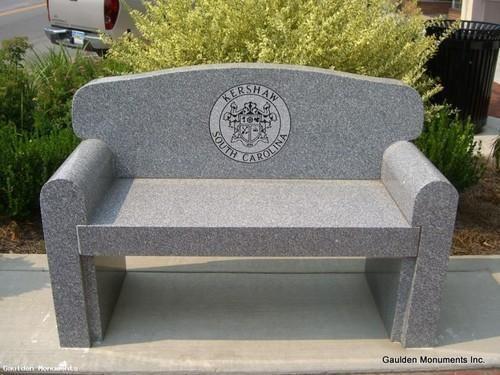Bon Stone Garden Bench
