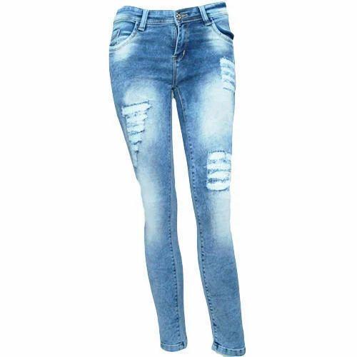 830f348695 Stretchable Ladies Slim Fit Jeans, Rs 650 /piece, Hitesh Fashions ...